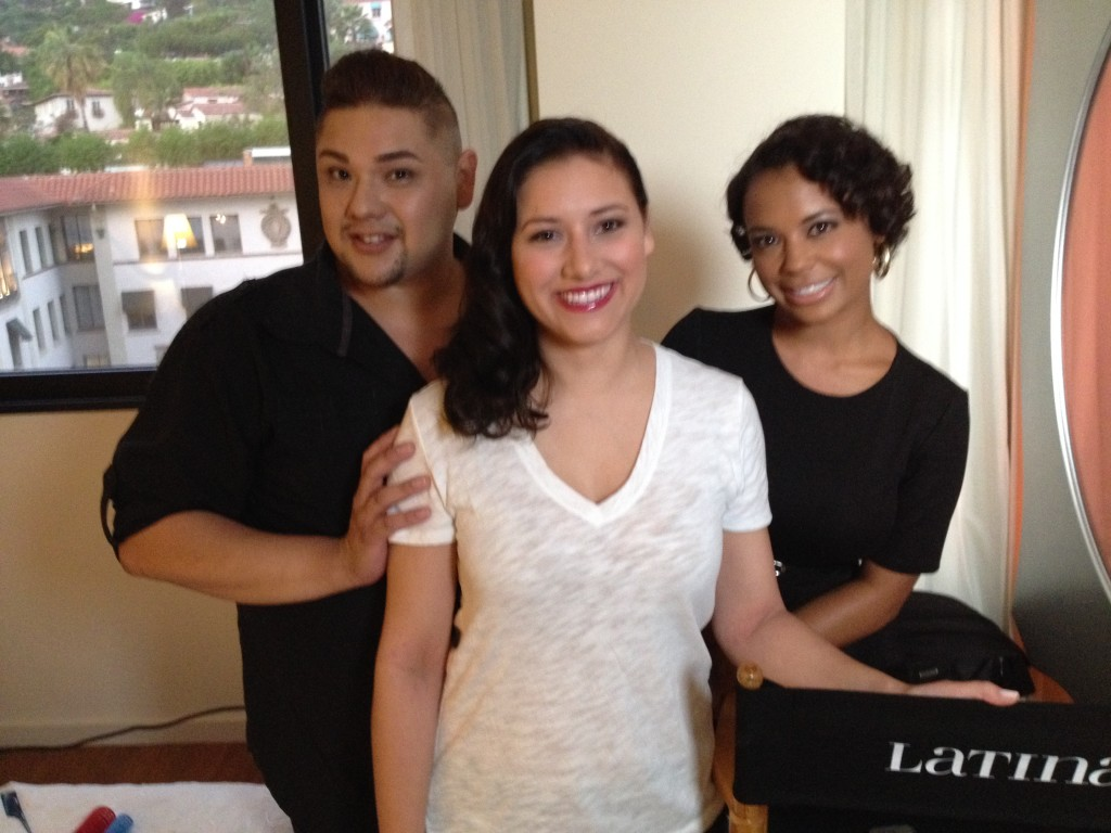 My hair and makeup team!